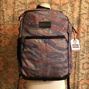 🚻 JanSport Hayes Tiger Camo Print Backpack